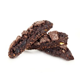 gone vegan! chocolate biscotti